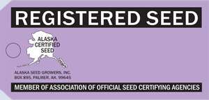 Registered Seed Tag